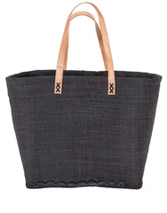 Fair Trade, Hand Woven, Beach Bag, Black