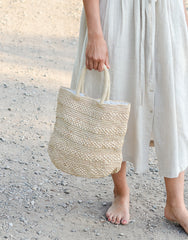 Fair Trade, Artisan Made, Hand Made, Beach Tote, Natural