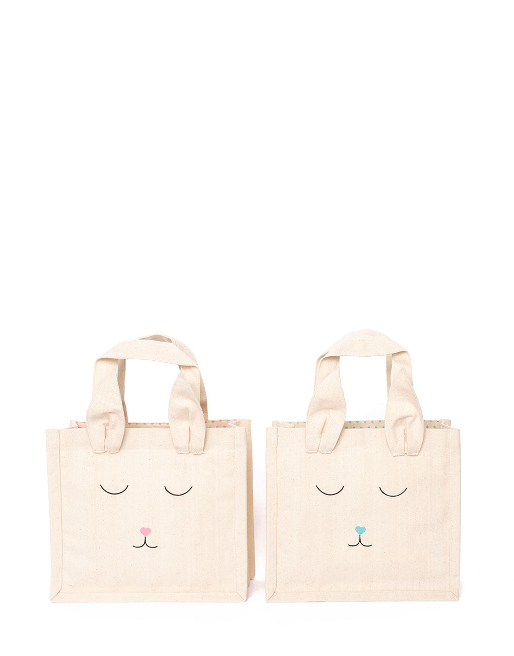 Canvas Bunny Totes | The Little Market