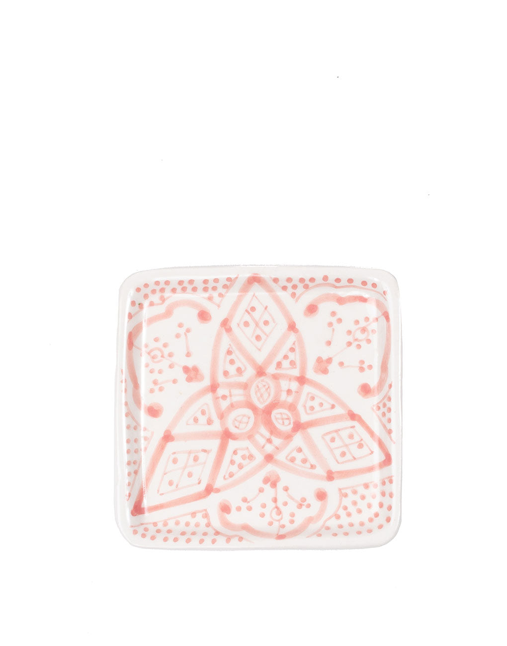 Square Ceramic Tray - Blush