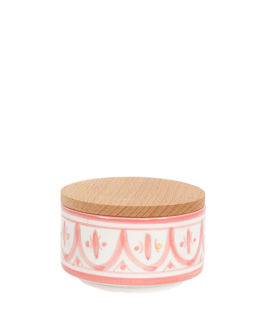 Fair Trade, Handmade Moroccan Ceramic Box, Blush