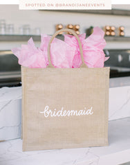 Shopping Tote - Bridesmaid | The Little Market