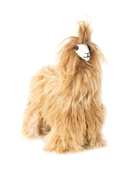 Alpaca Stuffed Animal - Brown Alpaca