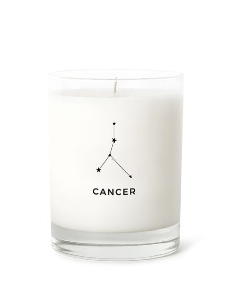 Candle Label - Cancer Constellation