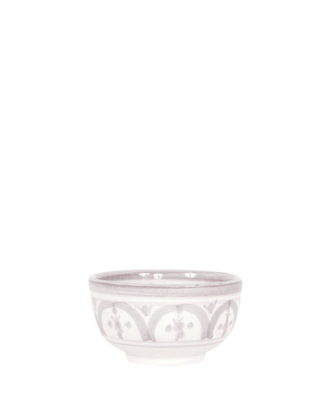 Ceramic Condiment Bowl - Gray