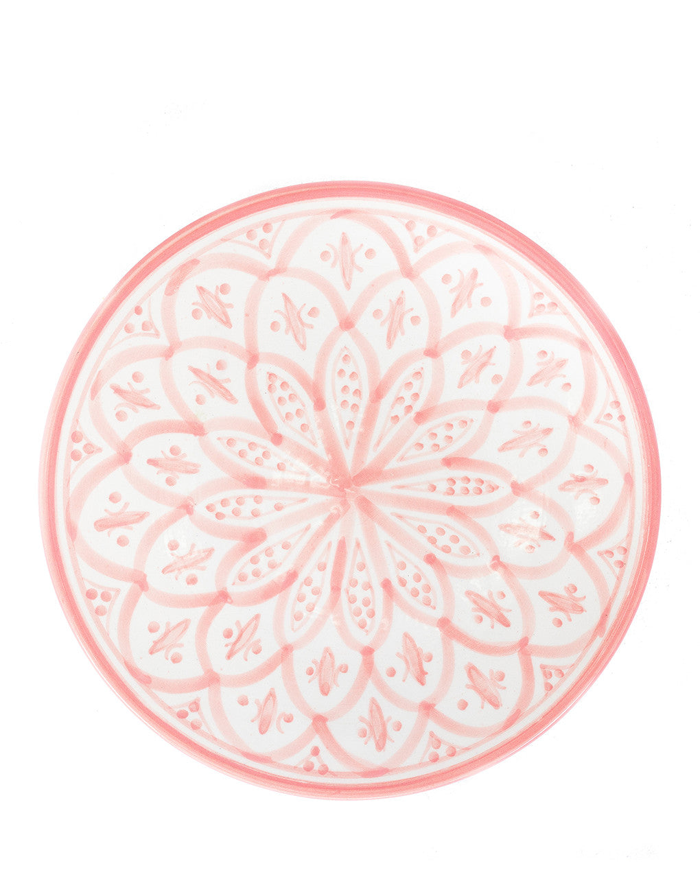Ceramic Dinner Plate - Blush | The Little Market