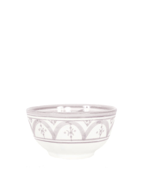 Ceramic Pasta Bowl - Gray