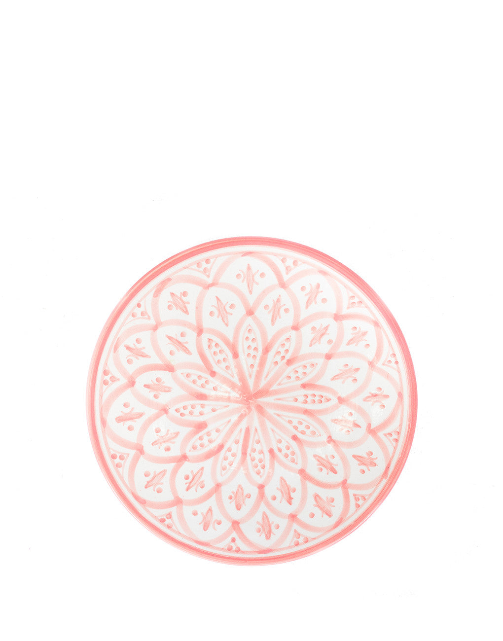 Ceramic Side Plate - Blush | Chabi Chic | Morocco | The Little Market