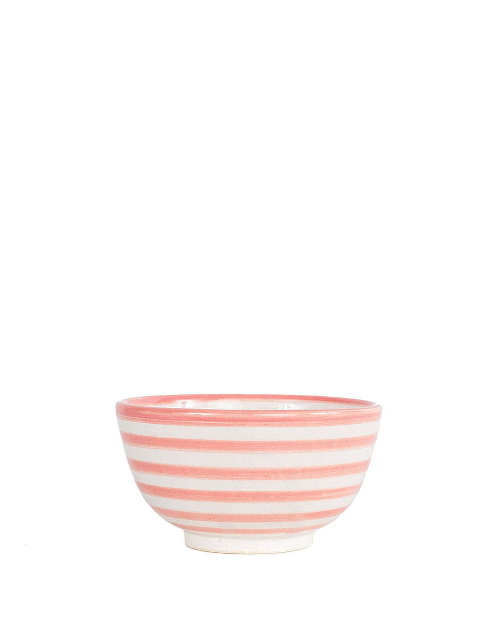 Ceramic Soup Bowl - Blush Stripe | The Little Market