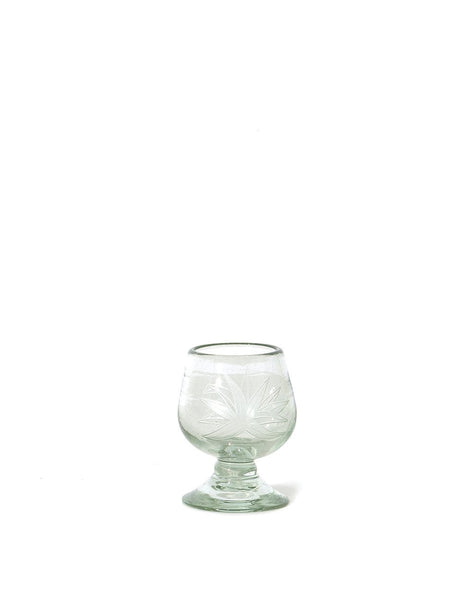 Clear Agave Glass Snifter
