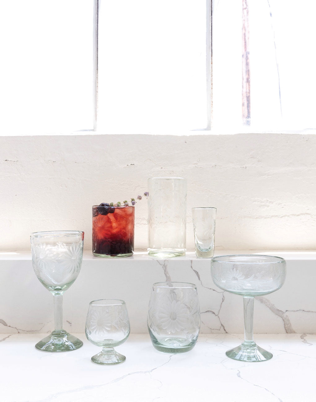 Clear Glassware | The Little Market