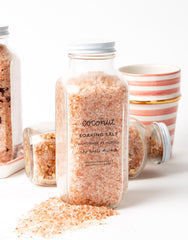 Coconut Scented Soaking Salt Spilled | The Little Market