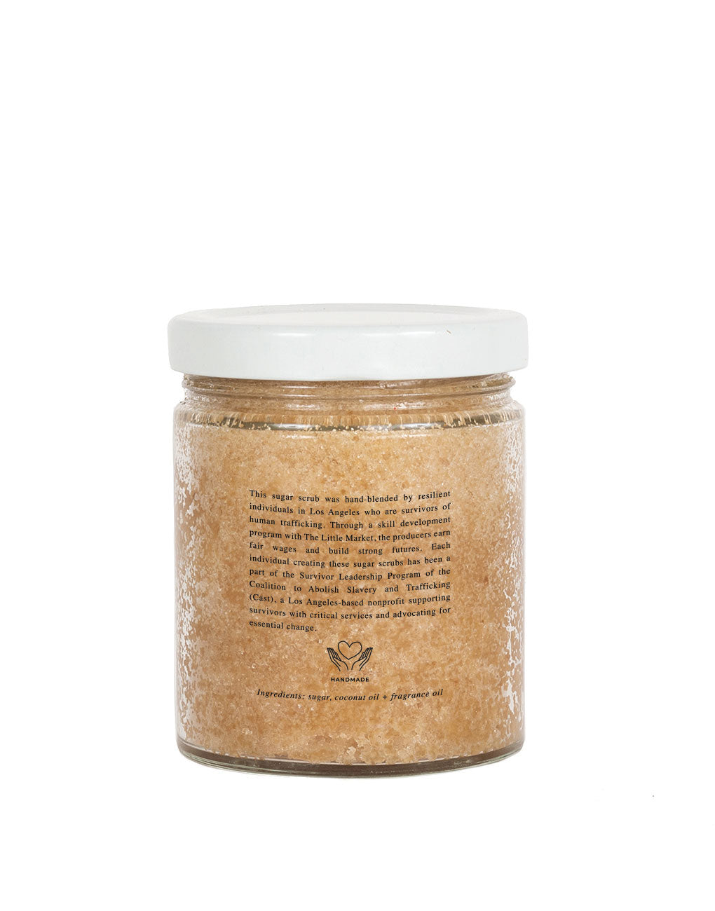 Coconut Scented Sugar Scrub | The Little Market