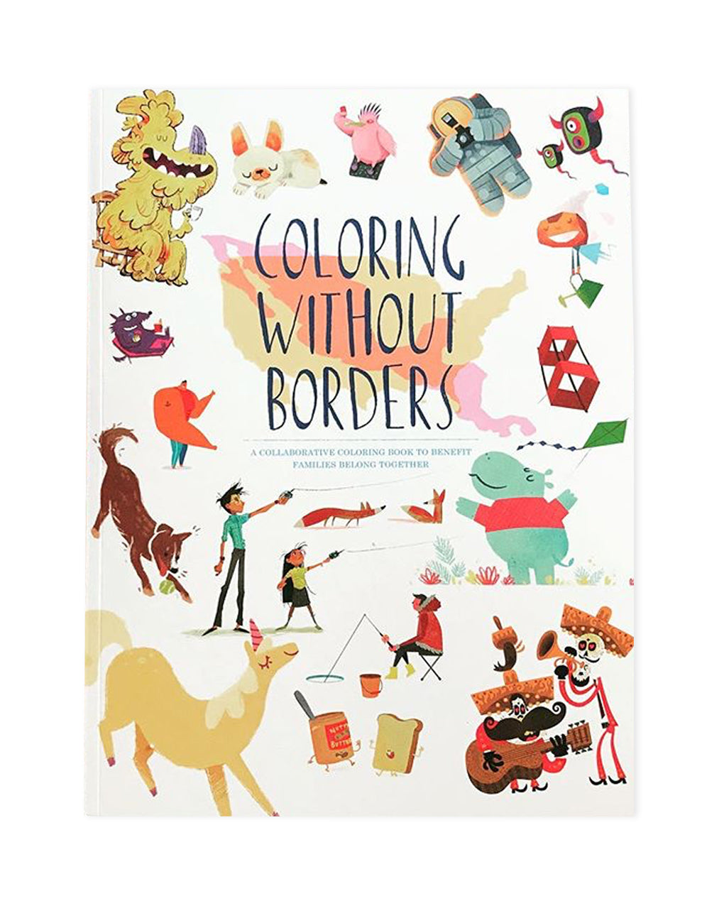 Coloring Without Borders Coloring Book | The Little Market