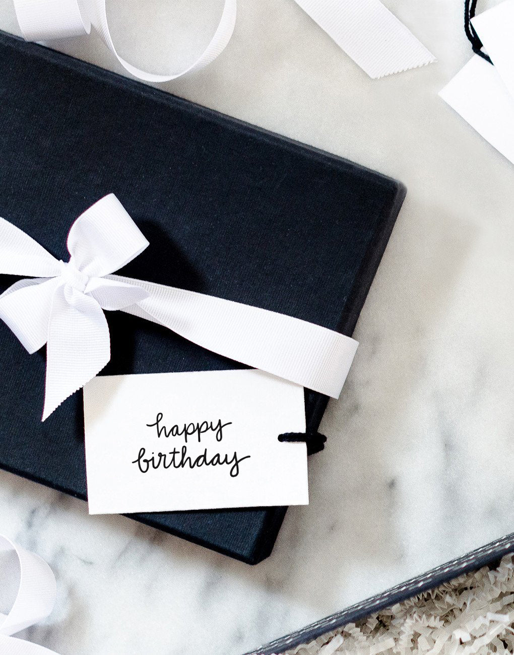Recycled Paper Gift Tag Set - Happy Birthday | The Little Market