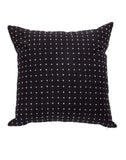 Black Cross Stitch Pillow | The Little Market