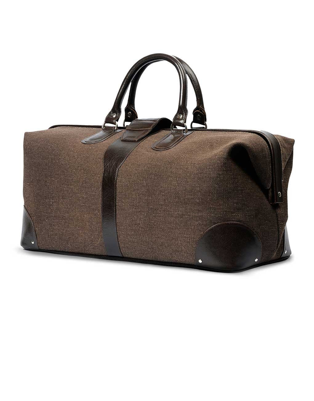 Fair Trade Handmade Brown Travel Bag