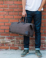 Doctor Bag - Brown Canvas