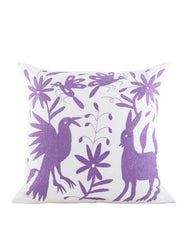Fair Trade Handmade Lavender Cotton Pillow