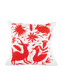 Fair Trade Handmade Red Pillow