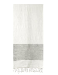 Ethiopian Cotton Bath Towel - Gray