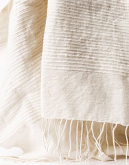 Ethiopian Cotton Bath Towel - Natural
