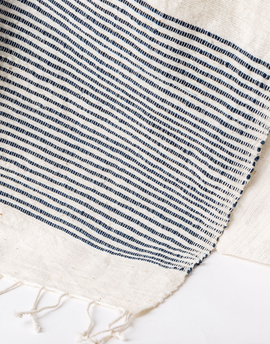 Ethiopian Cotton Bath Towel - Navy