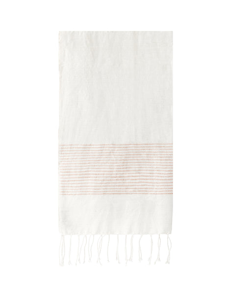 Ethiopian Cotton Hand Towel - Blush