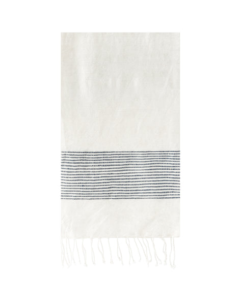 Ethiopian Cotton Hand Towel - Navy