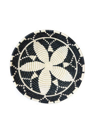 Fair Trade Hand-woven Bowl, Extra Large Black Decor