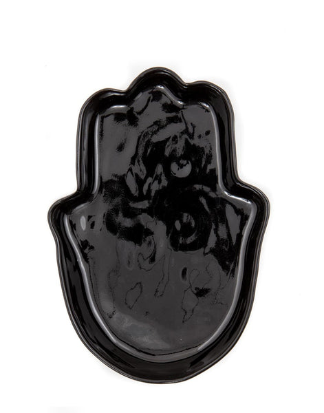 Ceramic Hand Tray - Black