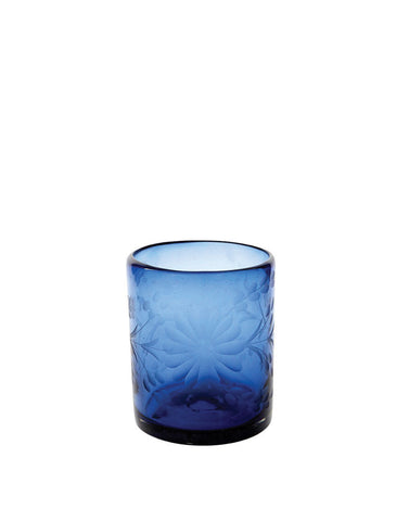 Ethically Sourced from Mexico Wine Glass Clear Hand Blown from Recycled Glass