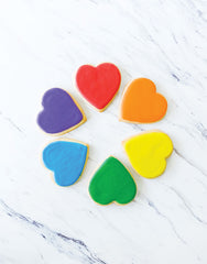 Rainbow Frosted Cookies | Homeboy Bakery | The Little Market