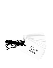 Fair Trade, Eco-friendly, Recycled Cotton Gift Tags