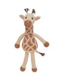 Hand-woven Stuffed Animal, Giraffe