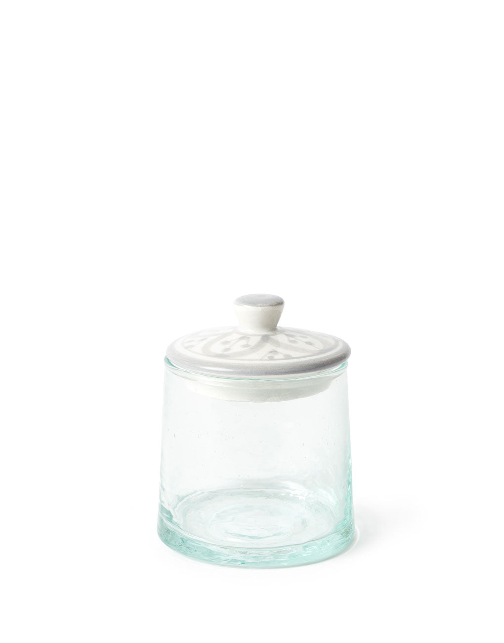 Glass Jar - Gray