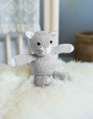 Gray Cat Stuffed Animal
