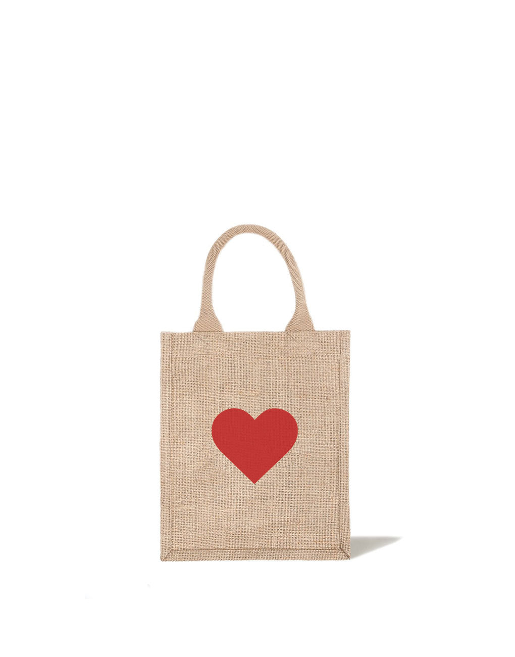 Red Heart Medium Gift Tote Bag | The Little Market