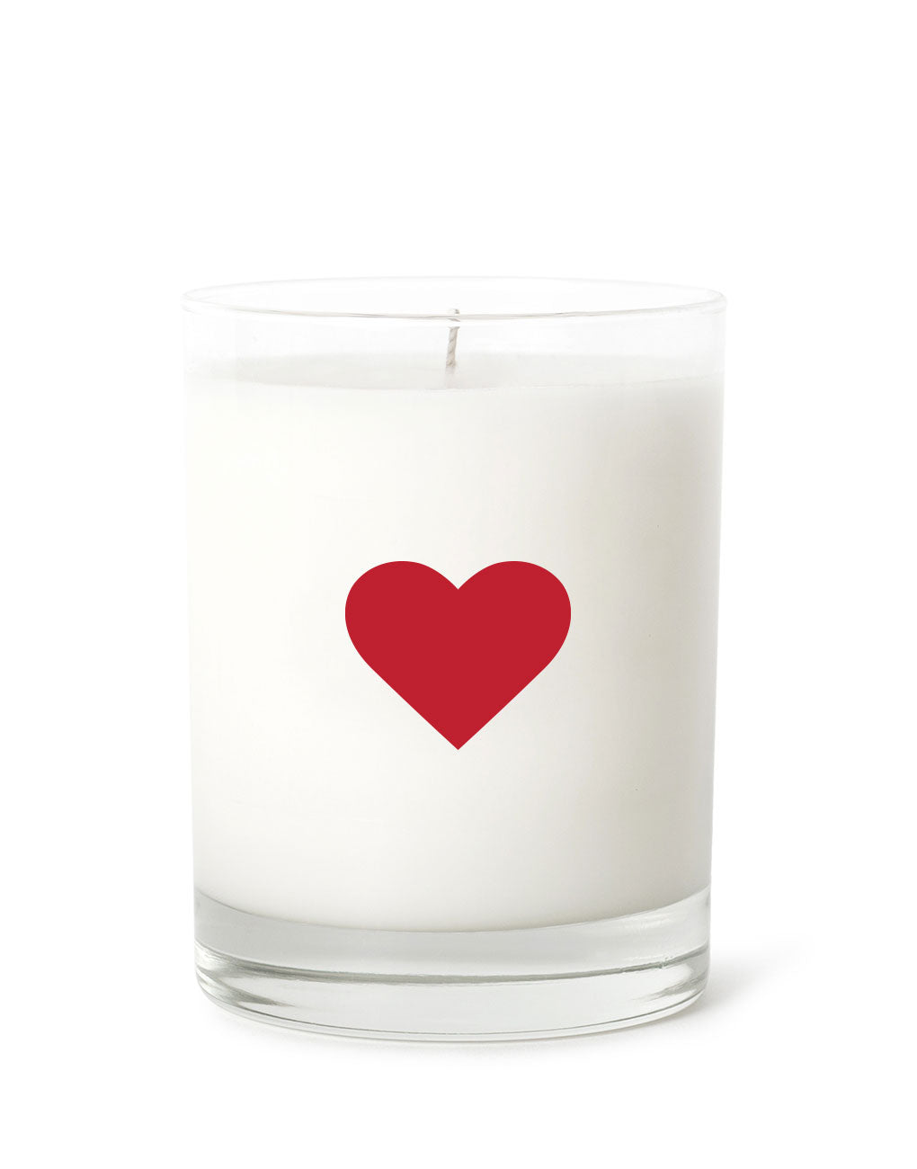 Candle - Heart (Red) | Prosperity Candle | The Little Market