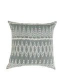Fair Trade Hand-Dyed Gray Ikat Pillow