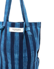 Indigo Tie-Dye Tote No.1 | The Little Market