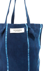 Indigo Tie-Dye Tote No. 3 | The Little Market