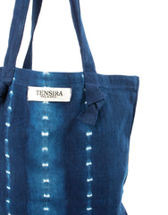 Indigo Tie-Dye Tote No. 4 | The Little Market