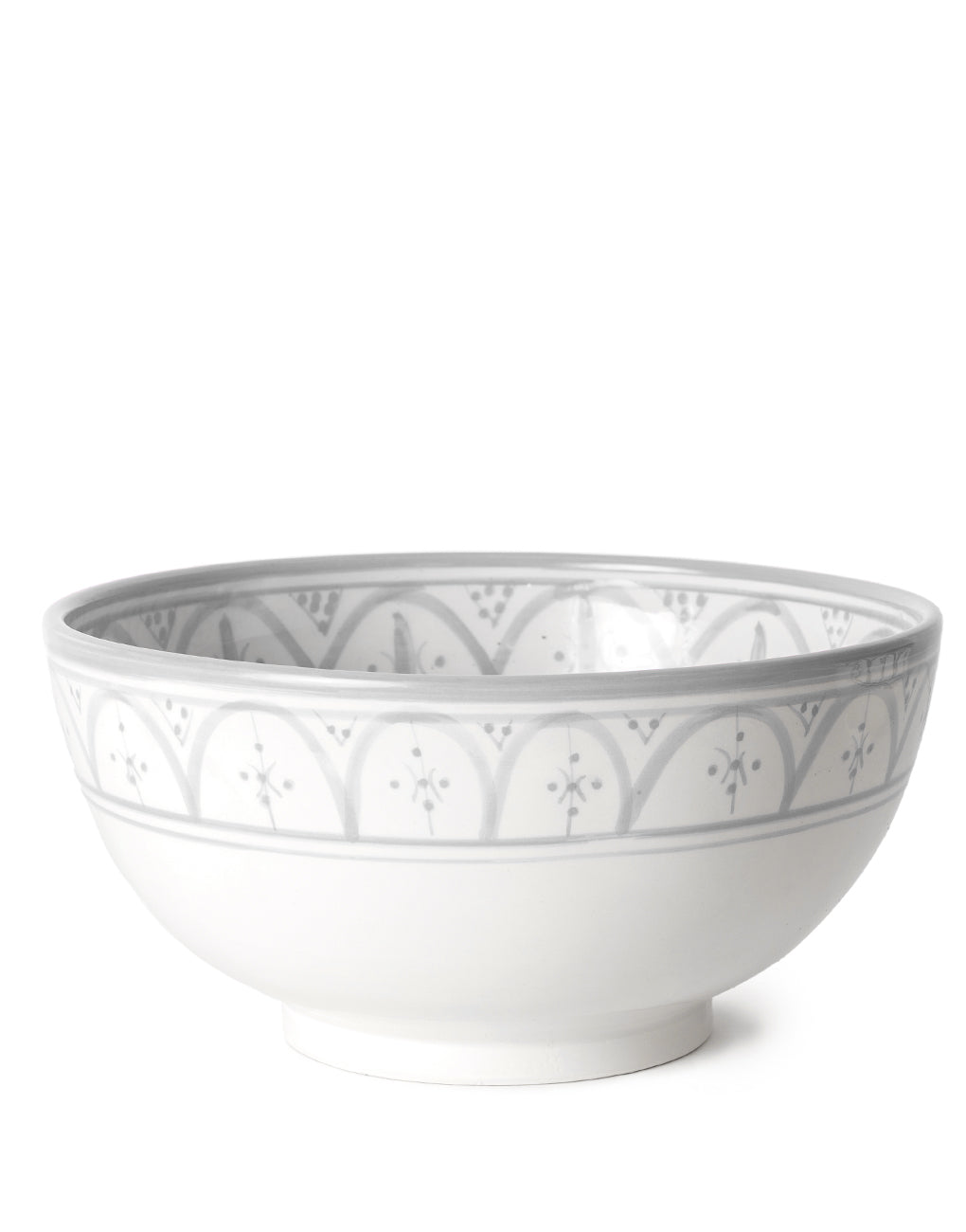 Gray Jumbo Ceramic Salad Bowl | The Little Market