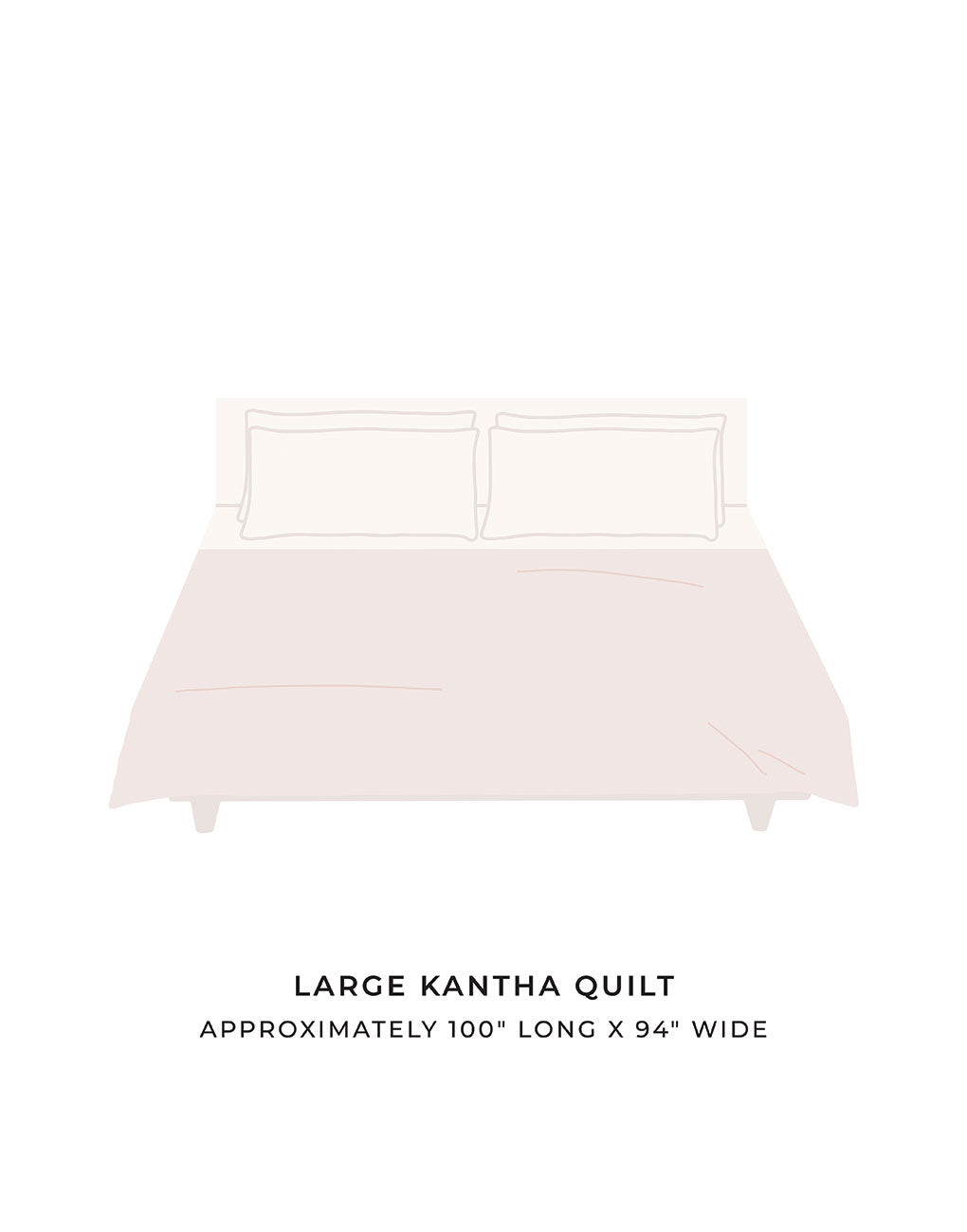 Large Kantha Quilt | The Little Market