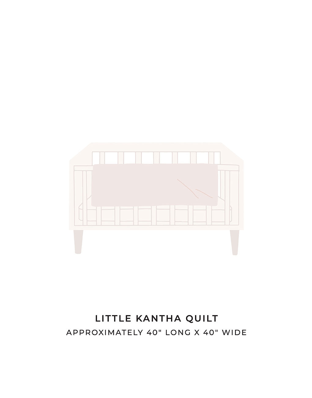 Little Kantha Quilt | The Little Market