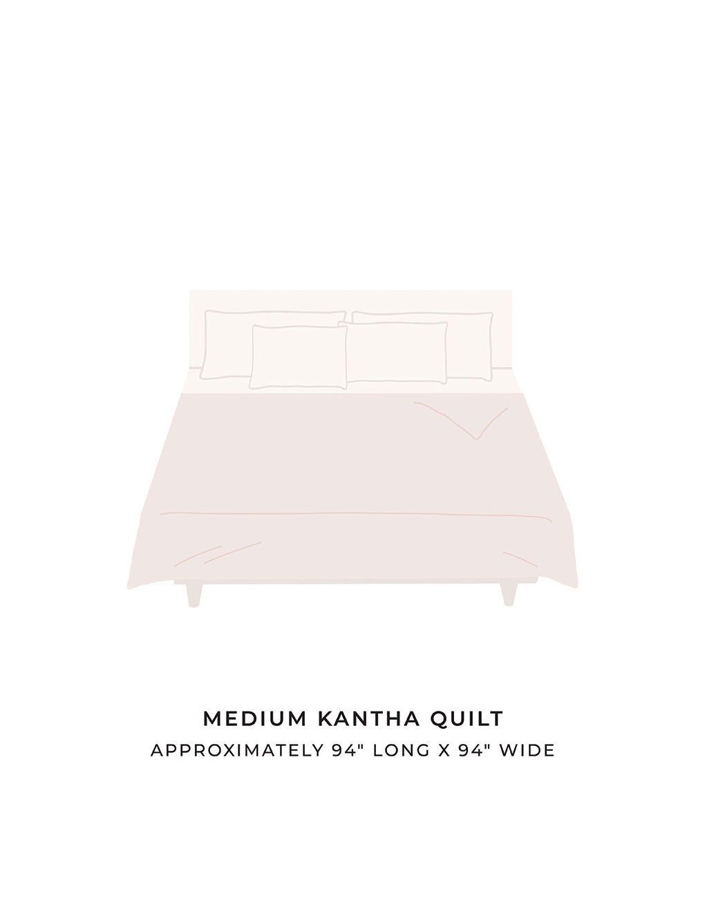 Medium Kantha Quilt | The Little Market