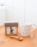Kenyan Black Tea Next To Mug And Wooden Spoon | The Little Market