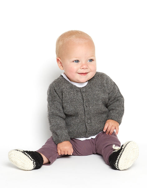 Knit Baby Sneakers & Sweater {The Little Market}
