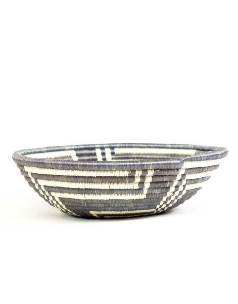 Fair Trade, Hand-woven Large Gray Basket